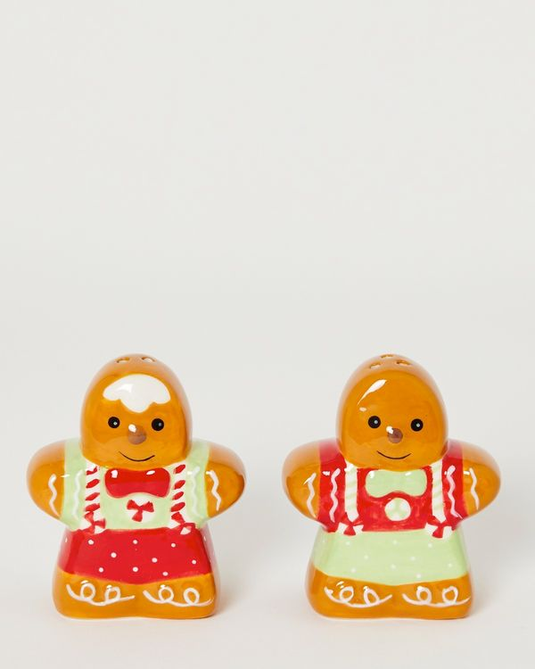 Gingerbread Salt And Pepper Shaker - Pack Of 2