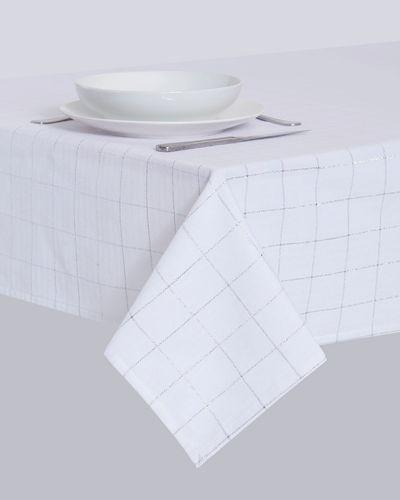 Lurex Square Tablecloth