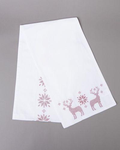 Embroidered Christmas Runner thumbnail