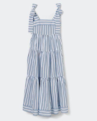 Savida Stripe Midi Dress