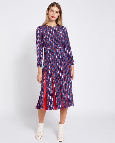 Savida Ines Print Dress