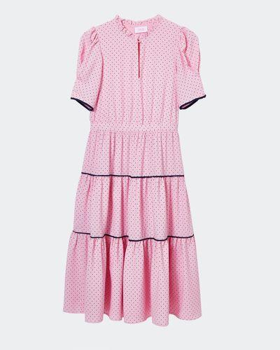 Savida Polka Dot Midi Dress