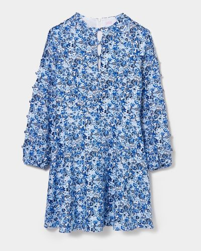Savida Lily Print Button Dress thumbnail