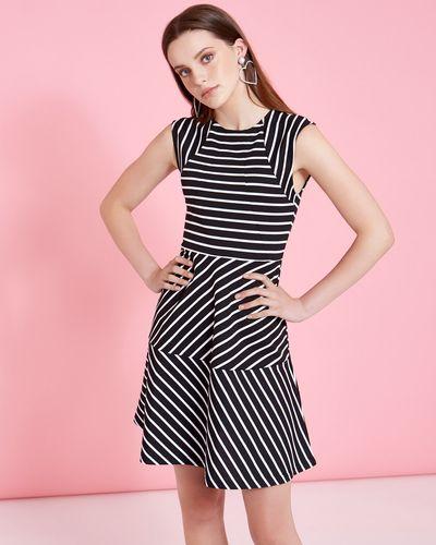 Savida Contrast Stripe Dress