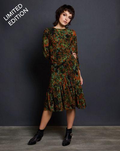 Savida Camouflage Print Dress