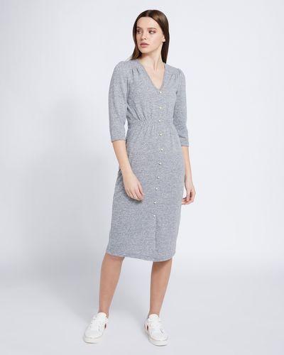 Savida Soft Touch Pearl Button Dress