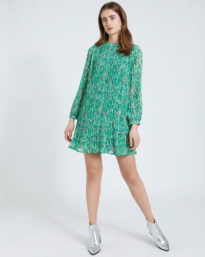 Savida Floral Print Pleat Dress