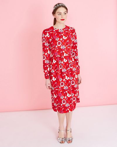 Savida Print Dress thumbnail