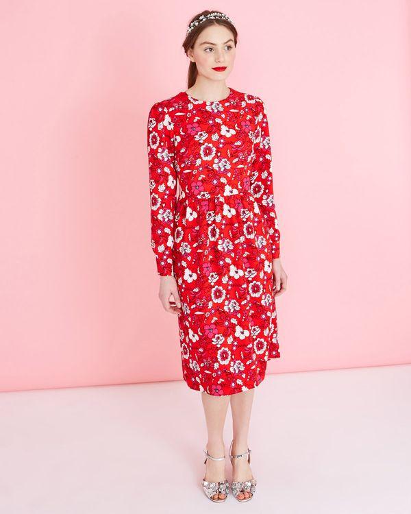 Savida Print Dress