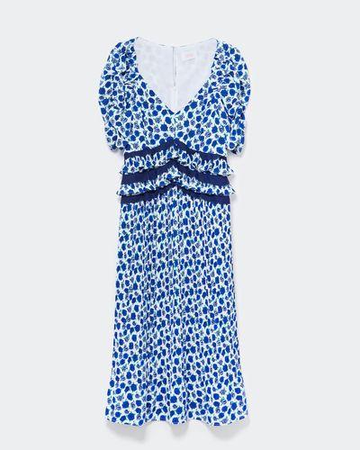 Savida Ruffle Waist Midi Dress thumbnail