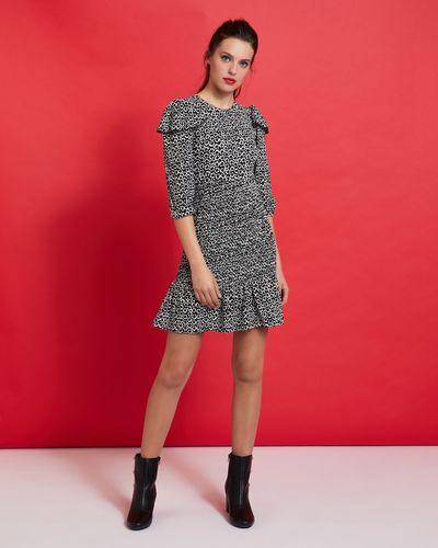 Savida Shirred Mini Dress