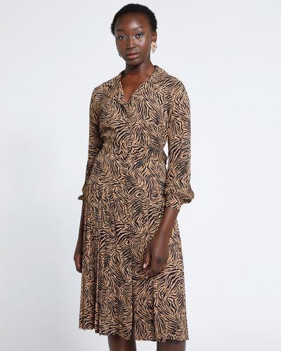 Savida Pleat Dress thumbnail