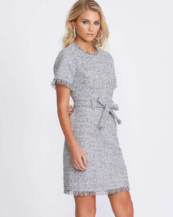 Savida Silver Tweed Dress