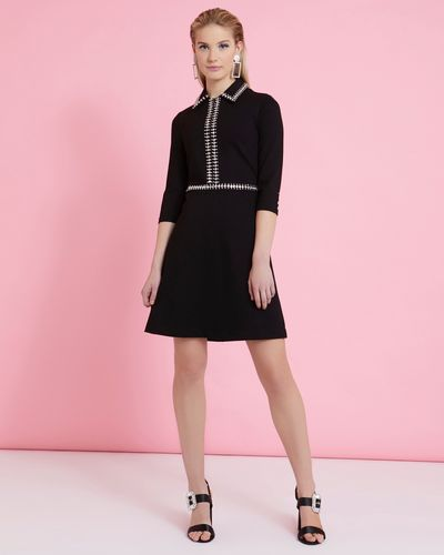 Savida Diamante Collar Dress