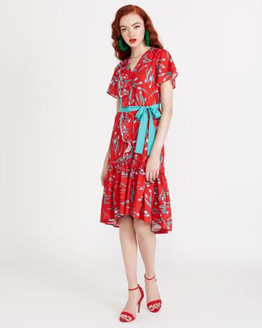 printSavida Maven Print Dress