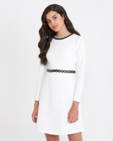 off-white Savida Stud Detail Dress