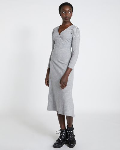 Savida Ribbed Midi Dress