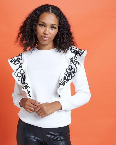Savida Isabel Frill Rope Sweatshirt
