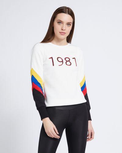 Savida Sequin Number Sweatshirt