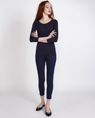 Savida Essential Scoop-Neck Top