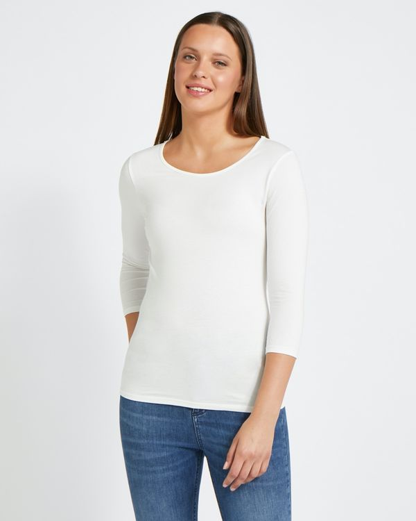 Savida Essential Scoop Neck Top