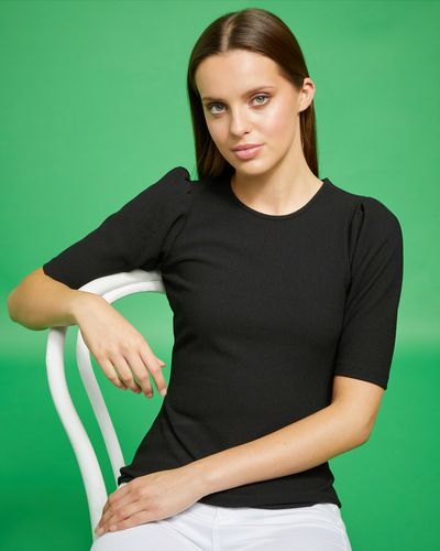 Savida Volume Sleeve T-Shirt