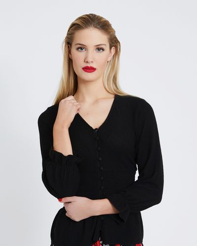 Savida Soft Touch Button Top