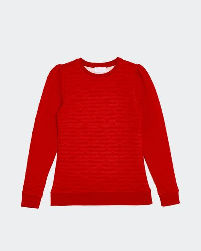 Savida Juliet Heart Bubble Sweatshirt