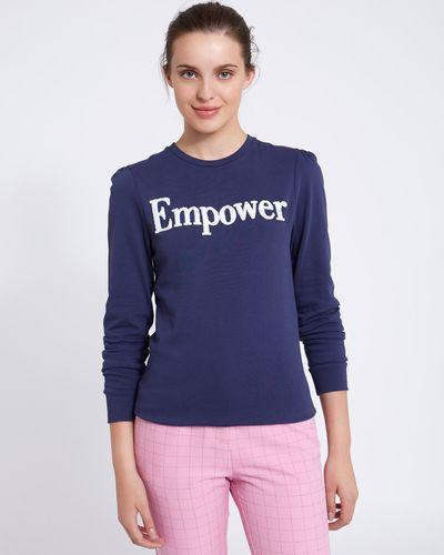 Savida Slogan Sweatshirt