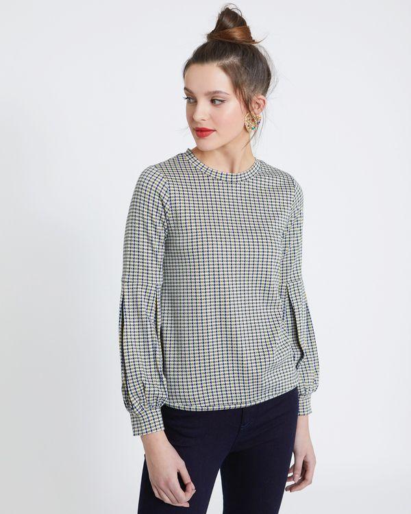 Savida Check Sweatshirt