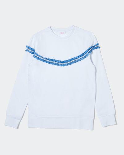 Savida Ruffle Diamante Sweatshirt