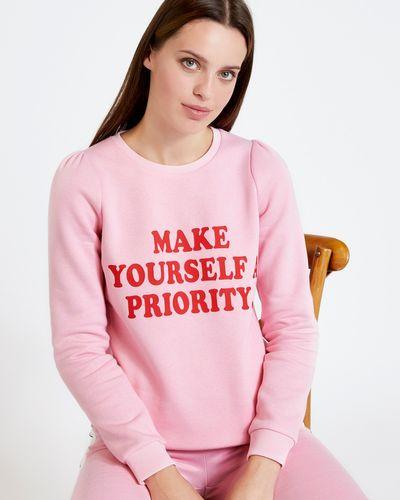 Savida Farrah Slogan Sweatshirt