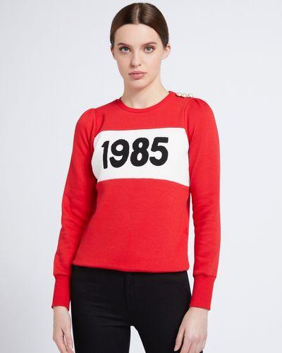 Savida 1985 Slogan Sweatshirt