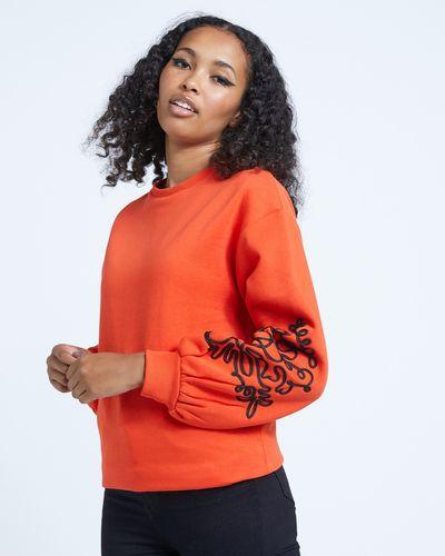 Savida Isabel Rope Sleeve Sweatshirt
