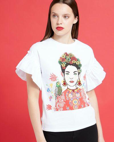 Savida Graphic Girl T-Shirt