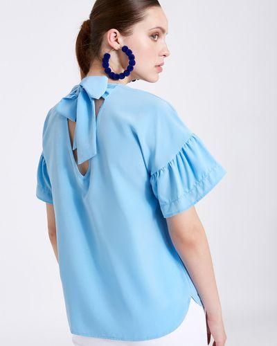 Savida Tie Back Blouse