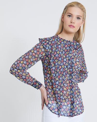Savida Floral Printed Blouse