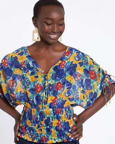 Savida Floral Print Blouse