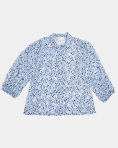 Savida Floral Pattern Blouse