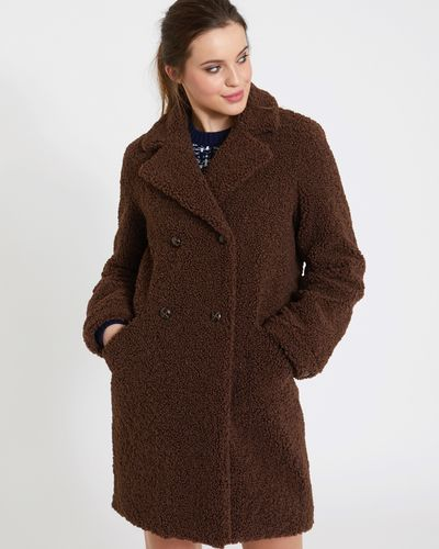 Savida Teddy Button Coat