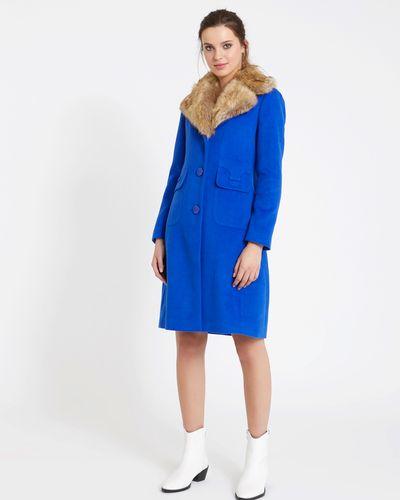 Savida Faux-Fur Collar Coat thumbnail