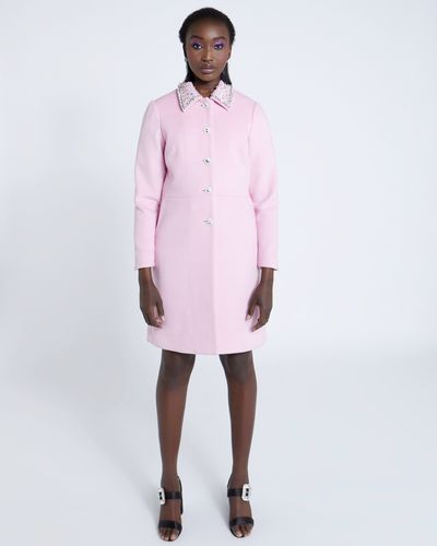Savida Jewel Collar Coat