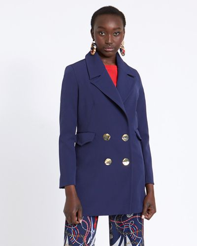Savida Riviera Button Coat