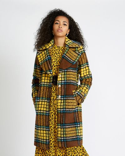 Savida Check Coat