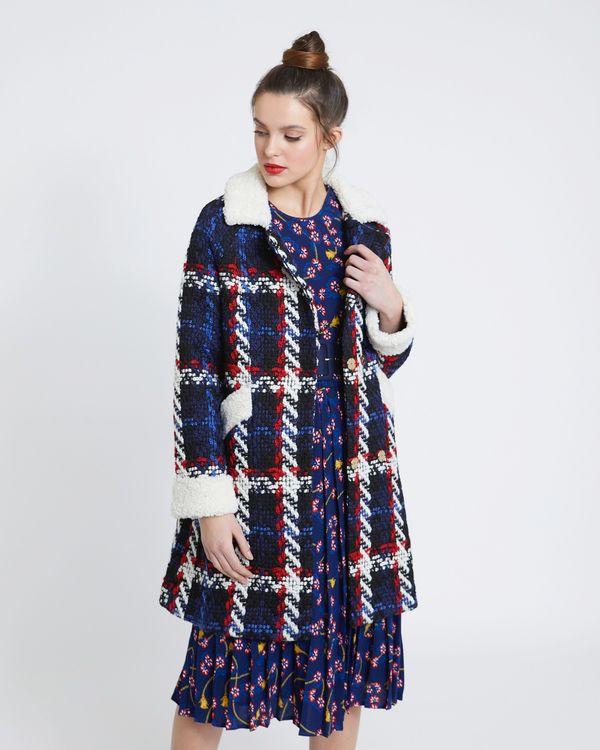 Savida Tweed Coat