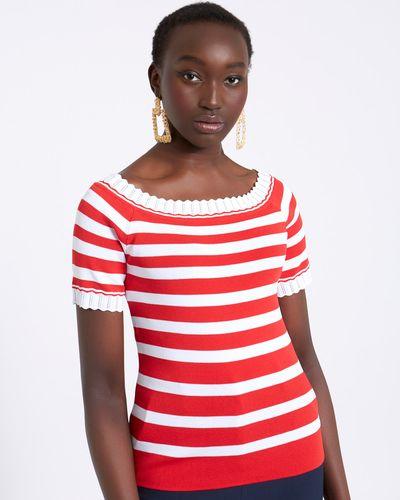 Savida Bardot Stripe Jumper thumbnail
