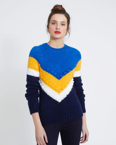 Savida Multicolour Bobble Jumper