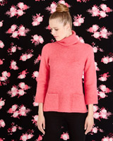 pink Savida Pocket Jumper