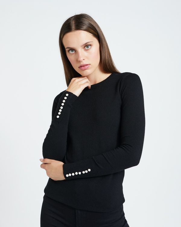 Savida Button Back Jumper
