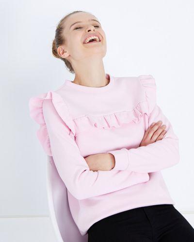 Savida Ruffle Front Sweatshirt thumbnail